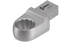 7771 Насадка-ключ накидной 18 мм под посадочное гнездо 9x12 мм для динамометрических ключей Click-Torque серий X и XP, , 3686 руб., WE-078631, , BESSEY