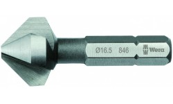 WE-104631 — Зенкер конический WERA 846 90° с 3 канавками, 8.3 mm