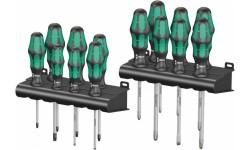 WE-105630 — Набор отвёрток WERA Kraftform Big Pack 300 шлиц, Phillips и Pozidriv TORX, 14 предметов