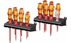 WE-105631 — Набор диэлектрических отвёрток WERA Kraftform Big Pack 100 VDE 1000V, 14 предметов
