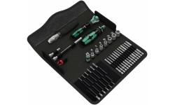 WE-135928 — Набор инструмента WERA Kraftform Kompakt M 1 для работы по металлу, 39 предметов