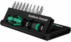 фото WE-135942 — Набор инструмента WERA Kraftform Kompakt 12, 10 предметов (WE-135942])