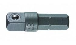 фото WE-136000 — Переходник WERA 870/1, 1/4 дюйм x 25 mm (WE-136000])