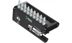 фото WE-136011 — Набор бит + держатель с ограничением длины WERA Bit-Check 10 Drywall 1, 10 предметов (WE-136011])
