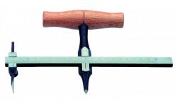 Нож циркульный No 722H для уплотнительных колец, d 400 мм, 2 ножа