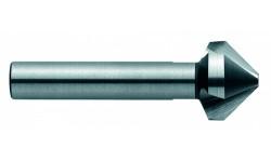 Зенковка коническая, No 7000, DIN 335 C, HSS-TiAlN, 90°, тип C, d 12,4 мм, 3 U-образные стружечные канавки, CBN (кубический нитрид бора) шлифовка