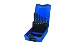 Набор метчиков машинных BLUE RING HSS-E V3, DIN 371/376, Тип B, 7 предметов, M3/4/5/6/8/10/12