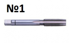 Метчик HGB HSSG M7 Nr.1, GQ-00073, 612 руб., GQ-00073, EXACT, Ручные Метчики
