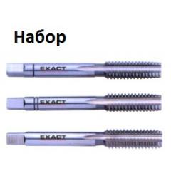 МЕТЧИКИ (набор) HGB HSSG NC 1.1/8, GQ-01380, 12654 руб., GQ-01380, EXACT, Ручные Метчики