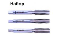 МЕТЧИКИ (набор) HGB HSSG NC 1.1/8, GQ-01380, 16371 руб., GQ-01380, EXACT, Ручные Метчики