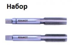МЕТЧИКИ 2шт.   HGB HSSG NF 1.1/8, GQ-01566, 12886 руб., GQ-01566, EXACT, Ручные Метчики