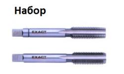 МЕТЧИКИ 2шт.  HGB HSSG BSF3/16, GQ-01903, 3766 руб., GQ-01903, EXACT, Ручные Метчики