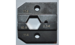 Набор опрессовочных плашек для PEW 12.114 624 114 3 0, RE-62411430, 17183 руб., RE-62411430, RENNSTEIG, Специальный инструмент