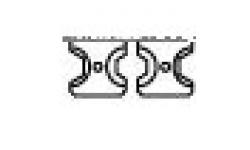 Гексагональная опрессовочная плашка K8/K12-7, RE-6302025, 23428 руб., RE-6302025, RENNSTEIG, Специальный инструмент