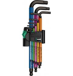 Набор Г-образных ключей, метрических WERA 950 SPKL/9 SM N Multicolour BlackLaser 022089, WE-022089, 3438 руб., WE-022089, WERA, АКЦИЯ