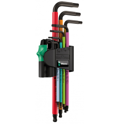 Набор Г-образных ключей, метрических WERA 950 SPKL/7B SM Multicolour Magnet BlackLaser 022534, WE-022534, 2949 руб., WE-022534, WERA, АКЦИЯ