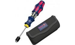 Отвертка Kraftform Kompakt 20 Red Bull Racing нержавеющая сталь, с сумкой WERA 227702