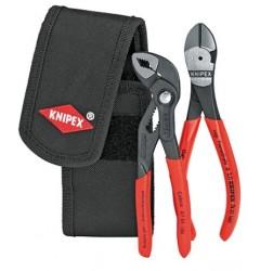 Набор с клещами в поясной сумке KNIPEX 00 20 72 V02 , KN-002072V02, 4277 руб., KN-002072V02, KNIPEX, Наборы инструментов и комплектующих
