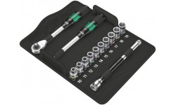 "8006 SC 1 Набор с трещоткой Zyklop Hybrid привод 1/2"" метрический WERA 004090, WE-004090, 22369 руб., WE-004090, KNIPEX, Новинки WERA"