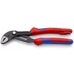 Высокотехнологичные сантехнические клещи Cobra®, 180 мм, KNIPEX 87 02 180T KN-8702180T, KN-8702180T, 3520 руб., KN-8702180T, KNIPEX, Клещи переставные