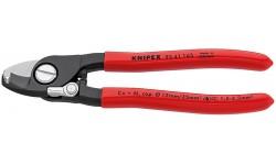 Ножницы для резки кабелей KNIPEX 95 41 165 KN-9541165, KN-9541165, 5341 руб., KN-9541165, KNIPEX, Ножницы для резки кабеля , проволочных тросов, пластмассы и др.