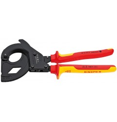 Резак для кабеля со стальным армированием электроизолированный KNIPEX 95 36 315 A KN-9536315A, KN-9536315A, 36294 руб., KN-9536315A, , Новинки KNIPEX