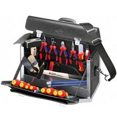 Чемодан с инструментом для электромонтера KNIPEX +24 предмета 00 21 02 SL KN-002102SL, KN-002102SL, 0 руб., KN-002102SL, KNIPEX, Наборы инструментов и комплектующих