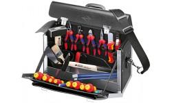 Чемодан с инструментом KNIPEX 00 21 02 SL для электромонтера, 24 предмета KN-002102SL, KN-002102SL, 0 руб., KN-002102SL, KNIPEX, Наборы инструментов и комплектующих