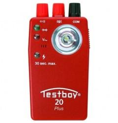 Прибор для проверки целостности цепи TESTBOY 20 plus, , 3644 руб., Testboy20Plus, TESTBOY, TESTBOY