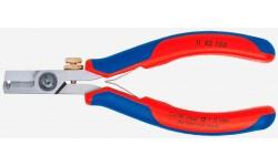 фото Ножницы-щипцы для удаления изоляции KNIPEX 11 82 130, полированные, 0,03-1,0 10 мм² KN-1182130 (KN-1182130])
