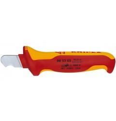 Нож для удаления изоляции 98 53 03, KN-985303, 1204 руб., KN-985303, KNIPEX, Зачистка  Изоляции