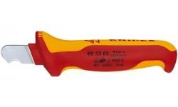 Нож для удаления изоляции 98 53 03, KN-985303, 1903 руб., KN-985303, KNIPEX, Ножи для удаления изоляции