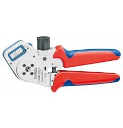 Инструмент для тетрагональной опрессовки контактов 97 52 63 DG, KN-975263DG, 87982 руб., KN-975263DG, KNIPEX, Обжимники