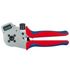 Инструмент для тетрагональной опрессовки контактов 97 52 65 DG A, KN-975265DGA, 86650 руб., KN-975265DGA, KNIPEX, Обжимники