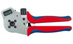 Инструмент для тетрагональной опрессовки контактов 97 52 65 DG A, KN-975265DGA, 100532 руб., KN-975265DGA, KNIPEX, Обжимники