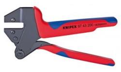 Инструмент для опрессовки системный 97 43 200 A, KN-9743200A, 13065 руб., KN-9743200A, KNIPEX, Обжимники
