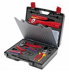 Чемодан с инструментом для фотогальваники MC3 (Multi-Contact) KNIPEX KN-979102, KN-979102, 69966 руб., KN-979102, KNIPEX, Обжимники