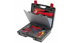 Чемодан с инструментом для фотогальваники MC3 (Multi-Contact) KNIPEX KN-979102, KN-979102, 0 руб., KN-979102, KNIPEX, Обжимники