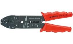 Клещи зажимные для опрессовки 97 21 215C, KN-9721215C, 2594 руб., KN-9721215C, KNIPEX, Обжимники