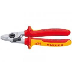 Ножницы для резки кабелей KNIPEX 95 26 165 KN-9526165, KN-9526165, 5110 руб., KN-9526165, KNIPEX,  Ножницы для резки кабеля , проволочных тросов, пластмассы и др.