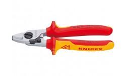 Ножницы для резки кабелей KNIPEX 95 26 165 KN-9526165, KN-9526165, 6170 руб., KN-9526165, KNIPEX, Ножницы для резки кабеля , проволочных тросов, пластмассы и др.