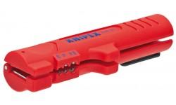 фото Стриппер KNIPEX 16 64 125 SB, для плоского и круглого кабеля Ø 4.0 - 13.0 мм KN-1664125SB (KN-1664125SB])