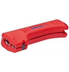 Универсальный инструмент для снятия оболочки с кабеля домовой и промышленной сети KNIPEX 16 90 130 SB, KN-1690130SB, 2434 руб., KN-1690130SB, KNIPEX, Зачистка  Изоляции