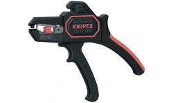 фото Автоматический стриппер KNIPEX 12 62 180, с резаком для кабеля. 0.2 - 6.0 мм² KN-1262180 (KN-1262180])