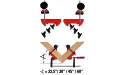 Система угловых струбцин BESSEY MCX, BE-MCX, 5160 руб., BE-MCX, BESSEY, Угловые зажимы