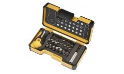 Набор бит Felo, с рукояткой ERGONIC  и биторжателем в кейсе, SL/PZ/PH/HEX/Tx, 30 шт , 020 730 06, , 3790 руб., 02073006, Felo, Наборы бит