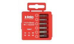 Набор бит Felo Industrial, в кейсе, Tx 50 мм,  6 шт , 036 915 16, , 1490 руб., 03691516, Felo, Наборы бит