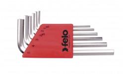 Набор шестигранников Felo, 6 шт , 345 006 01, , 690 руб., 34500601, Felo, Шестигранные ключи