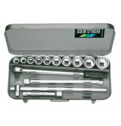 Набор торцевых ключей 101-0-М, HE-00101000080, 41003 руб., HE-00101000080, HEYCO,  Набор инструментов