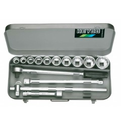 Набор торцевых ключей 101-80-M, HE-00101800080, 44163 руб., HE-00101800080, HEYCO,  Набор инструментов